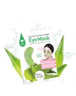 Mặt nạ trị thâm quầng mắt Baby Bright Aloe Vera & Fresh Collagen Eye Mask