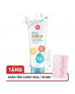 Kem chống nắng dưỡng ẩm Cathy Doll Aqua Sun Non Greasy Body Sun Serum SPF50 PA+++ 138ml