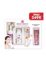 Bộ dưỡng trắng cho da mặt Ready 2 White Instant Whitening Set (4pcs)