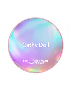 Phấn phủ Cathy Doll Skin Fit Nude Matte Powder Pact SPF30 PA+++ 12g