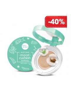 Phấn nước dưỡng ẩm Baby Bright Aloe Snail Moist Cushion SPF50 PA+++ 15g