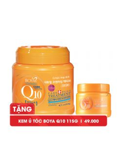 Kem ủ tóc Q10 Boya Treatment 680g