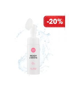 Sữa rửa mặt trắng da Cathy Doll Ready 2 White 2in1 Bubble mousse cleanser 120ml (New)