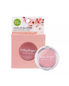 Phấn má hồng Baby Bright Face On Blusher 5g-#01 Cherry Blossom