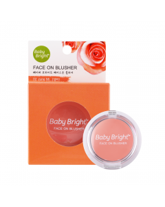 Phấn má hồng Baby Bright Face On Blusher 5g-#03 Nueng Sowa