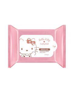 Khăn giấy tẩy trang Hello Kitty Cathy Doll Micellar Cleansing Water Makeup Wipes 30 miếng x 2 gói
