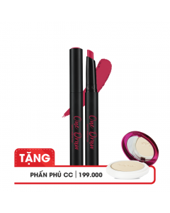 Son bút chì Cathy Doll One Draw Semi Matte Lip 1.5g