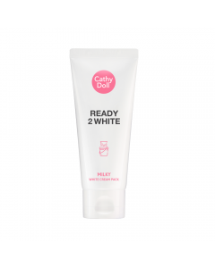 Mặt nạ ủ trắng da Cathy Doll Ready 2 White Milky White Cream Pack 100ml - New
