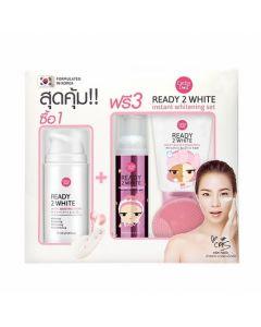 Bộ dưỡng trắng cho da mặt Ready 2 White Instant Whitening Set (3pcs)