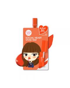 Son tint siêu lì Cathy Doll Social Heart Vivid Tint gói 2g