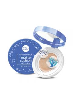 Phấn nước dạng lì Baby Bright White Plankton Matte Cushion SPF50 PA+++ 15g