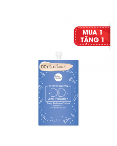 Kem nền Baby Bright White Plankton DD Anti-Pollution Daify Defense Cream SPF50 PA+++ 7g #21 True Bright